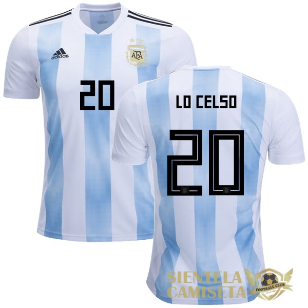 argentina 18 camiseta lo celso local [bak-19-1-11-43]