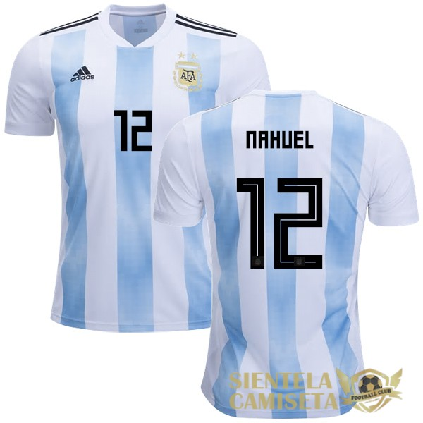 argentina 18 camiseta nahuel local