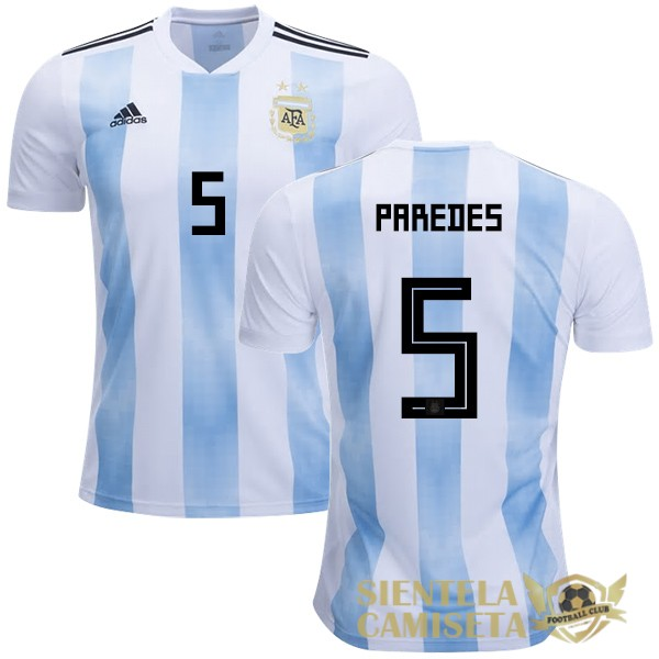 argentina 18 camiseta paredes local