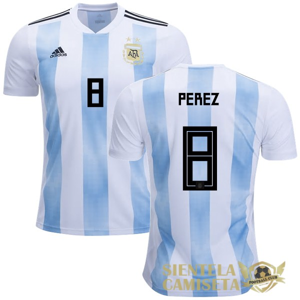 argentina 18 camiseta perez local