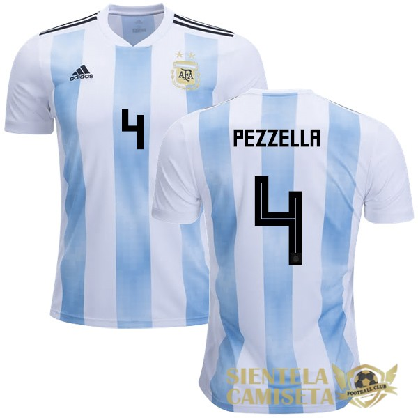 argentina 18 camiseta pezzellr local