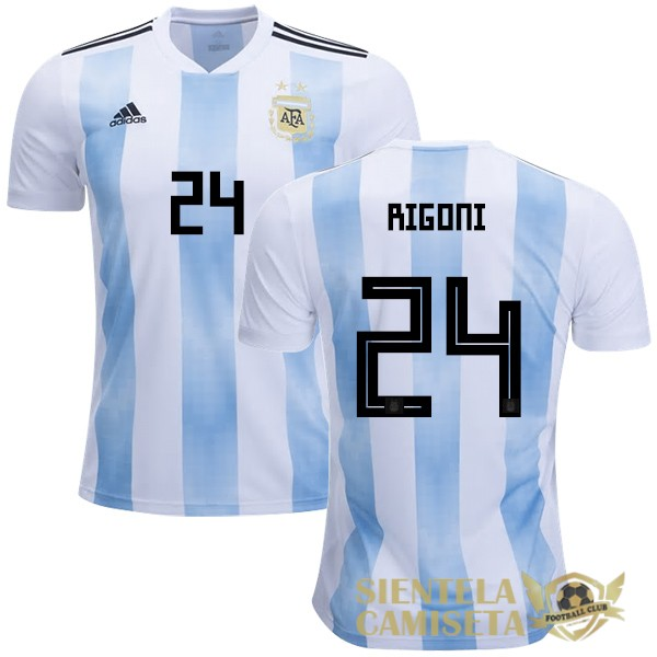 argentina 18 camiseta rigoni local