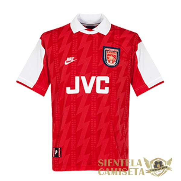 arsenal retro primera 1994 camiseta