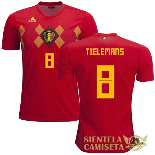 belgica 18 camiseta tielemans local