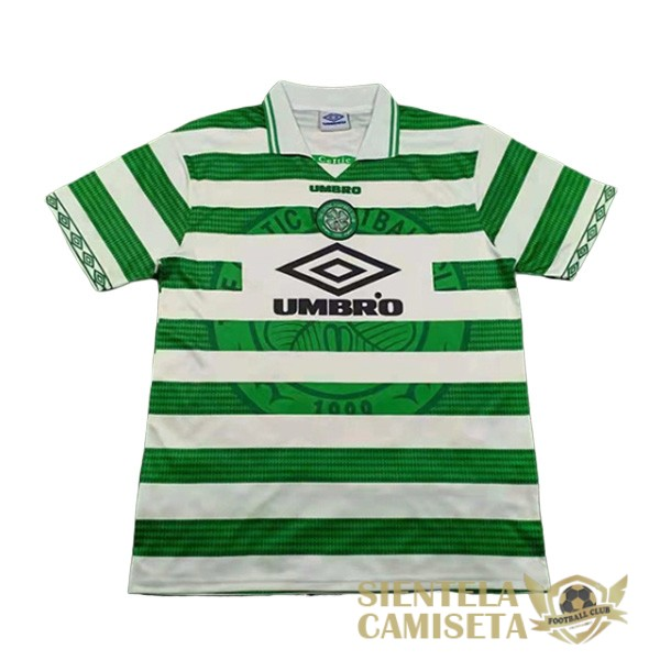 celtic retro primera 1997 1999 camiseta