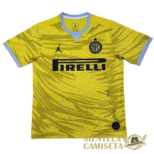 inter milan amarillo 19 20 camiseta