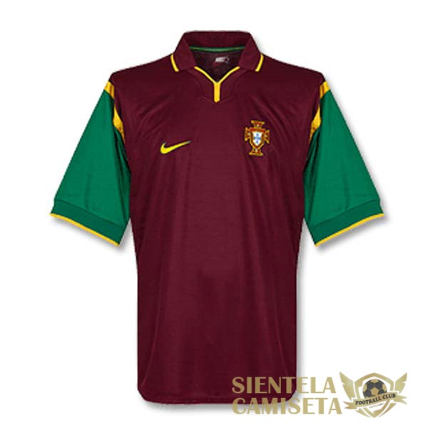 portugal retro primera 1999 camiseta