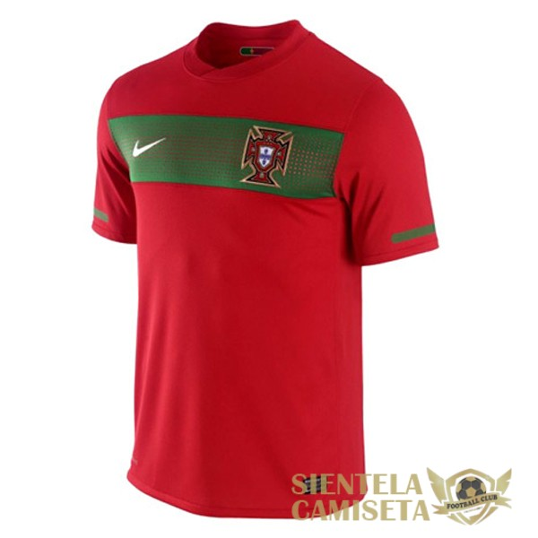 portugal retro primera 2010 camiseta