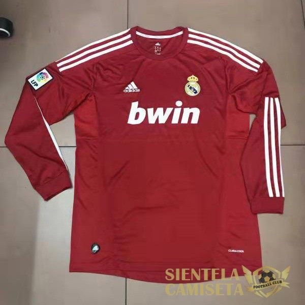 real madrid 2011 12 camiseta manga larga retro local