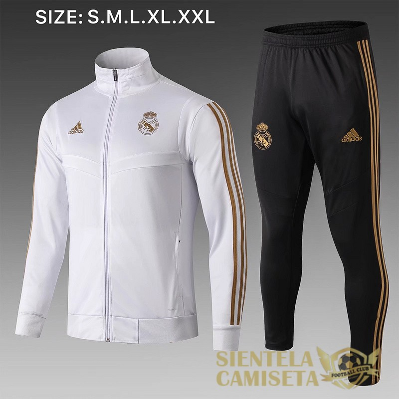 real madrid blanco B 2019 2020 chaqueta