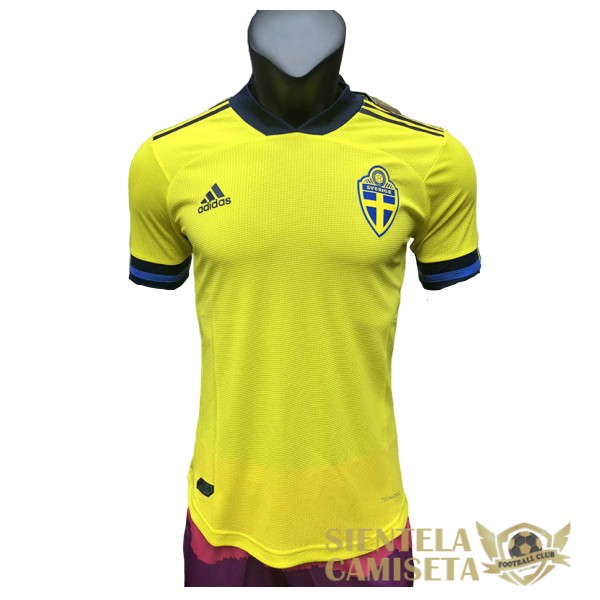 suecia primera version player 2020 camiseta